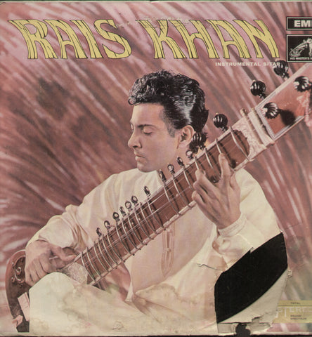 Khansahib Rais Khan - Classical Bollywood Vinyl LP