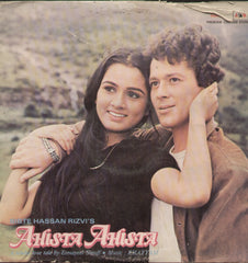 Ahista Ahista 1980 - Hindi Bollywood Vinyl LP