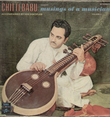 Chitti Babu Musings Af A Musician Accompanied By His Orchestra Vol 2 -Compilation Bollywood Vinyl LP