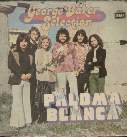 """PALOMA BLANCA"" George Baker Selection Warner Bros  - English  Bollywood Vinyl L P"