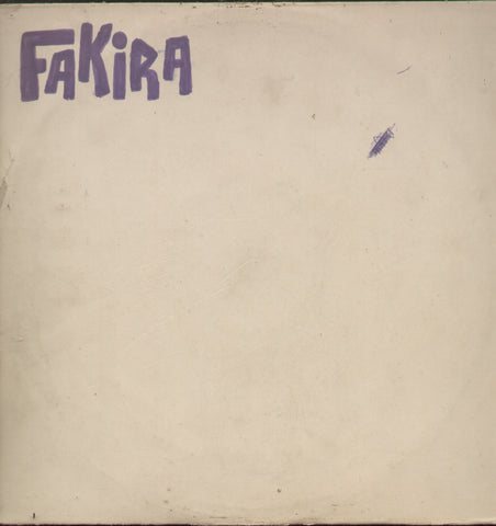 Fakira 1970 - Hindi Bollywood Vinyl LP