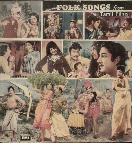 Folk Songs From Tamil Films - Tamil Bollywood Vinyl LP