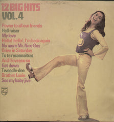 12 Big Hits Vol.4 - English Bollywood Vinyl LP