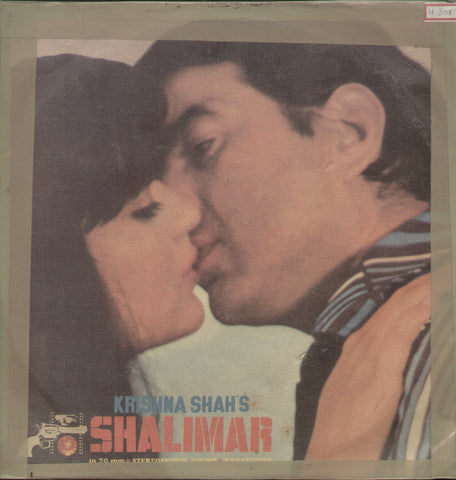 Shalimar 1960 - Hindi Bollywood Vinyl LP