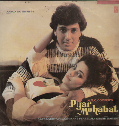 Pyar Mohabat 1966 - Hindi Bollywood Vinyl LP