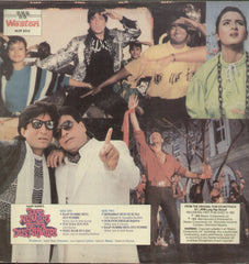 Baap Numbri Beta Dus Numbri 1990 - Hindi Bollywood Vinyl LP