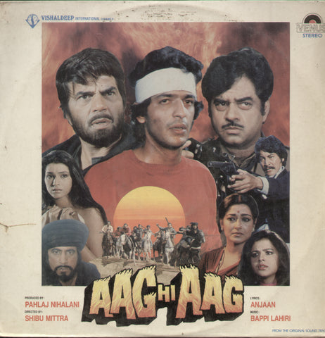 Aag Hi Aag - Hindi Bollywood Vinyl LP