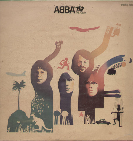 Abba The Album - English Bollywood Vinyl LP