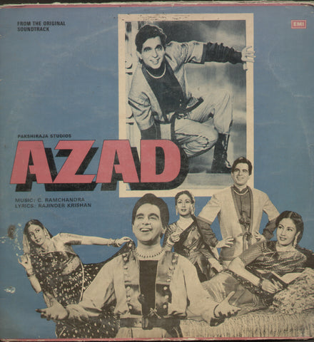 Azad 1960 - Hindi Bollywood Vinyl LP