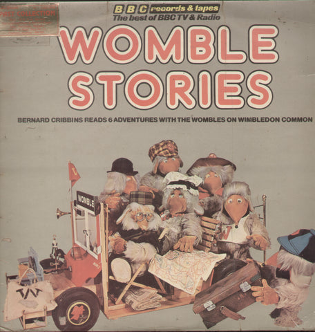 Womble Stories - English Bollywood Vinyl LP