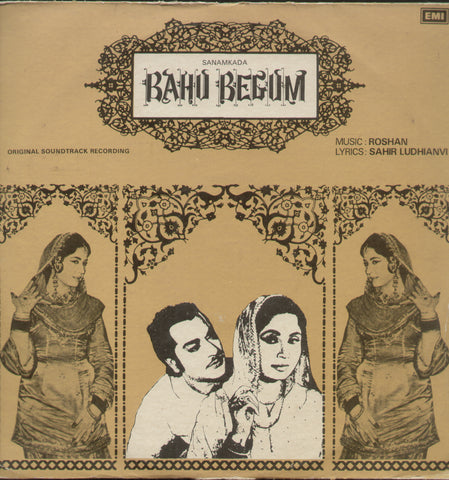 Bahu Begum - Hindi Bollywood Vinyl LP