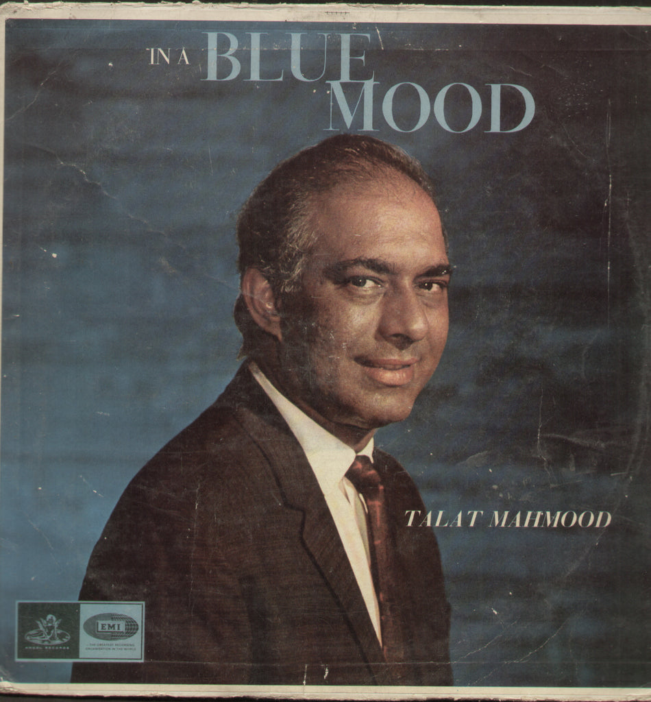 In A Blue Mood Talat Mahmood - Hindi Bollywood Vinyl LP