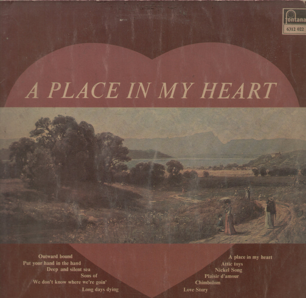 A Place In My Heart - English Bollywood Vinyl LP