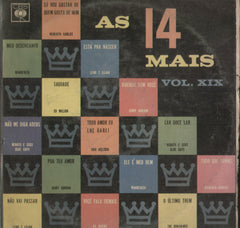 As 14 Mais Vol. XIX - English Bollywood Vinyl LP