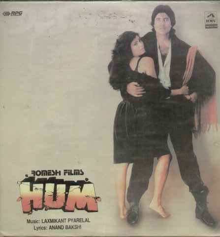 Hum - Hindi Bollywood Vinyl LP
