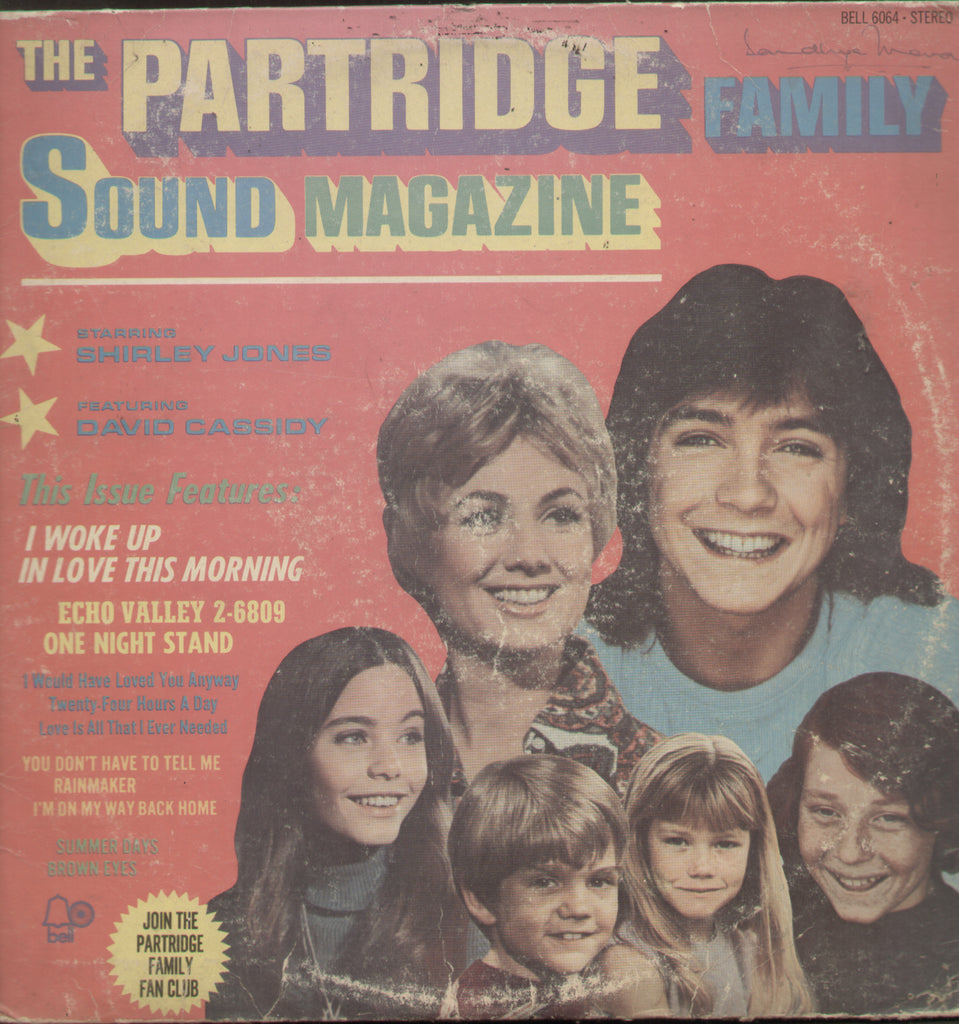 The Partride Family Sound Magzine - English Bollywood Vinyl LP