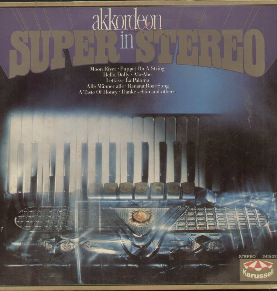 Akkordeon Super In Stereo - English Bollywood Vinyl LP