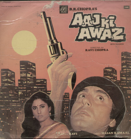 Aaj Ki Awaz 1980 - Hindi Bollywood Vinyl LP