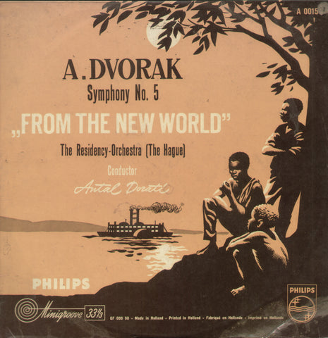 "A. Dvorak Symphony No.5 ""From The New World"" - English Bollywood Vinyl LP"