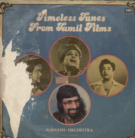 Timeless Tunes From Tamil Films - Instrumental Bollywood Vinyl LP