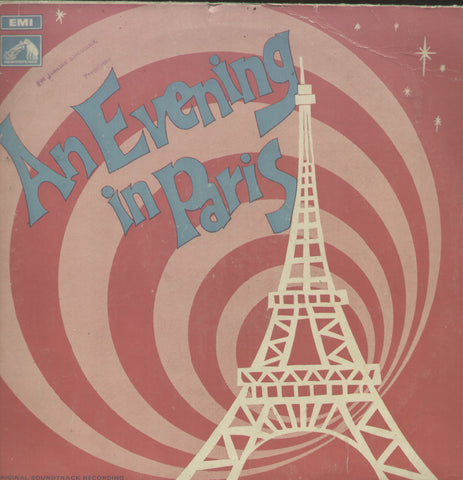 An Evening In Paris 1960 - Hindi Bollywood Vinyl LP