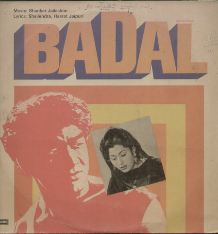 Badal 1960 - Hindi Bollywood Vinyl LP
