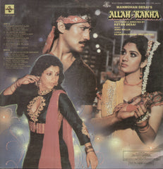 Allah Rakha - Hindi Bollywood Vinyl LP