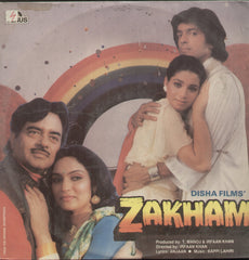 Zakham 1970 - Hindi Bollywood Vinyl LP