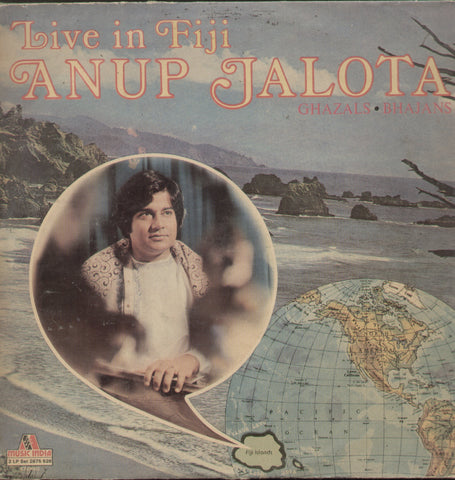 Live In Fiji Anup Jalota - Hindi Bollywood Vinyl LP