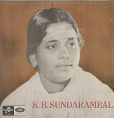 Tamil Basic Devotional Songs K.B Sundarambal 1963 Tamil Vinyl LP