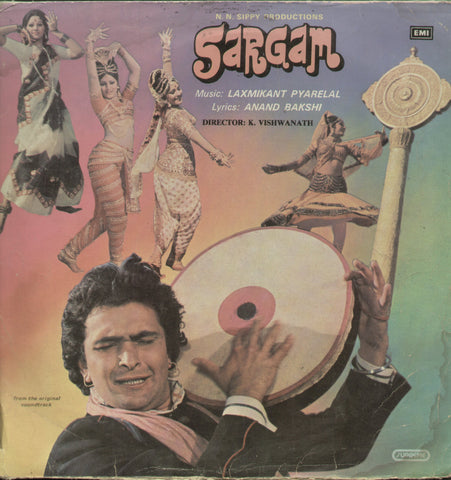 Sargam 1990 - Hindi Bolluwood Vinyl  LP