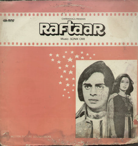 Raftaar 1970 - Hindi Bollywood Vinyl LP