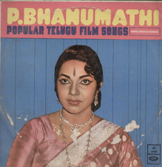 P. Bhanumathi Popular Telugu Films Popular Songs 1971 Telugu Vinyl LP