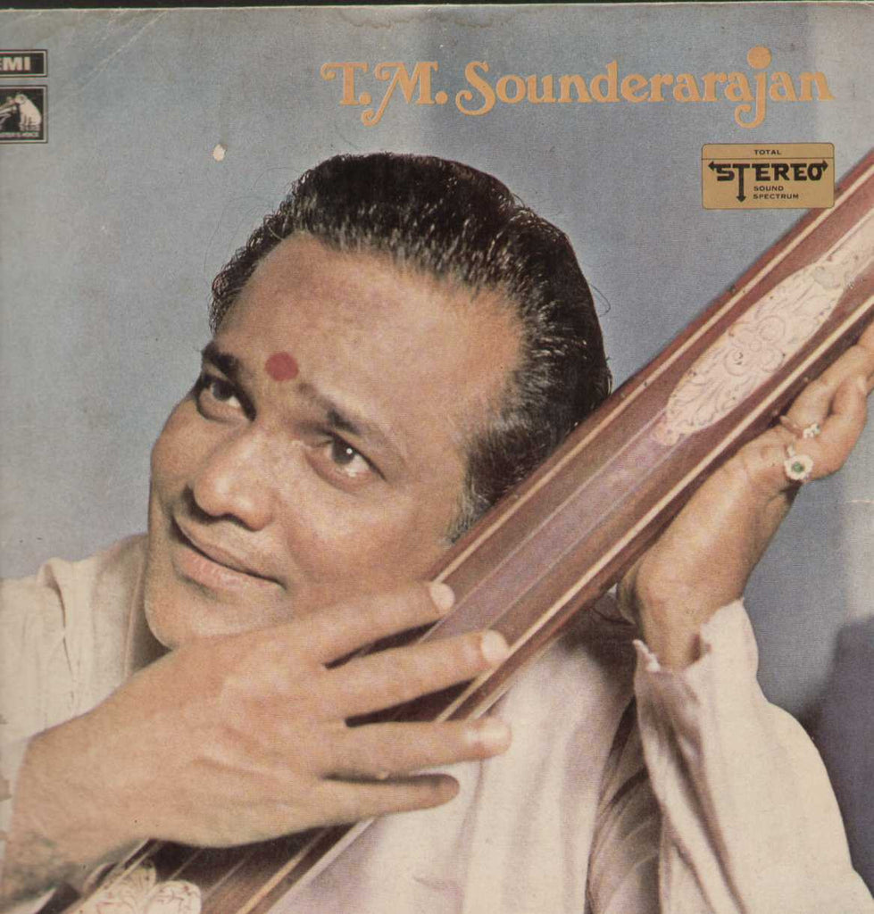 Tamil Devotional Songs T.M Sounderarajan 1971 Tamil Vinyl LP