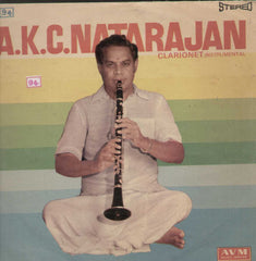 Clarionet by By A.K.C Natarajan Vinyl L P