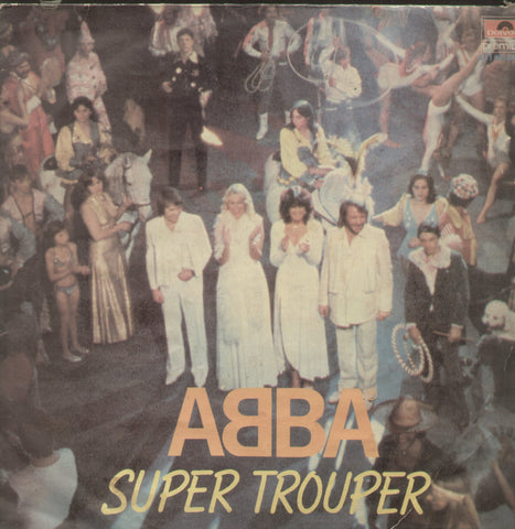 ABBA Super Trouper - English Bollywood Vinyl LP