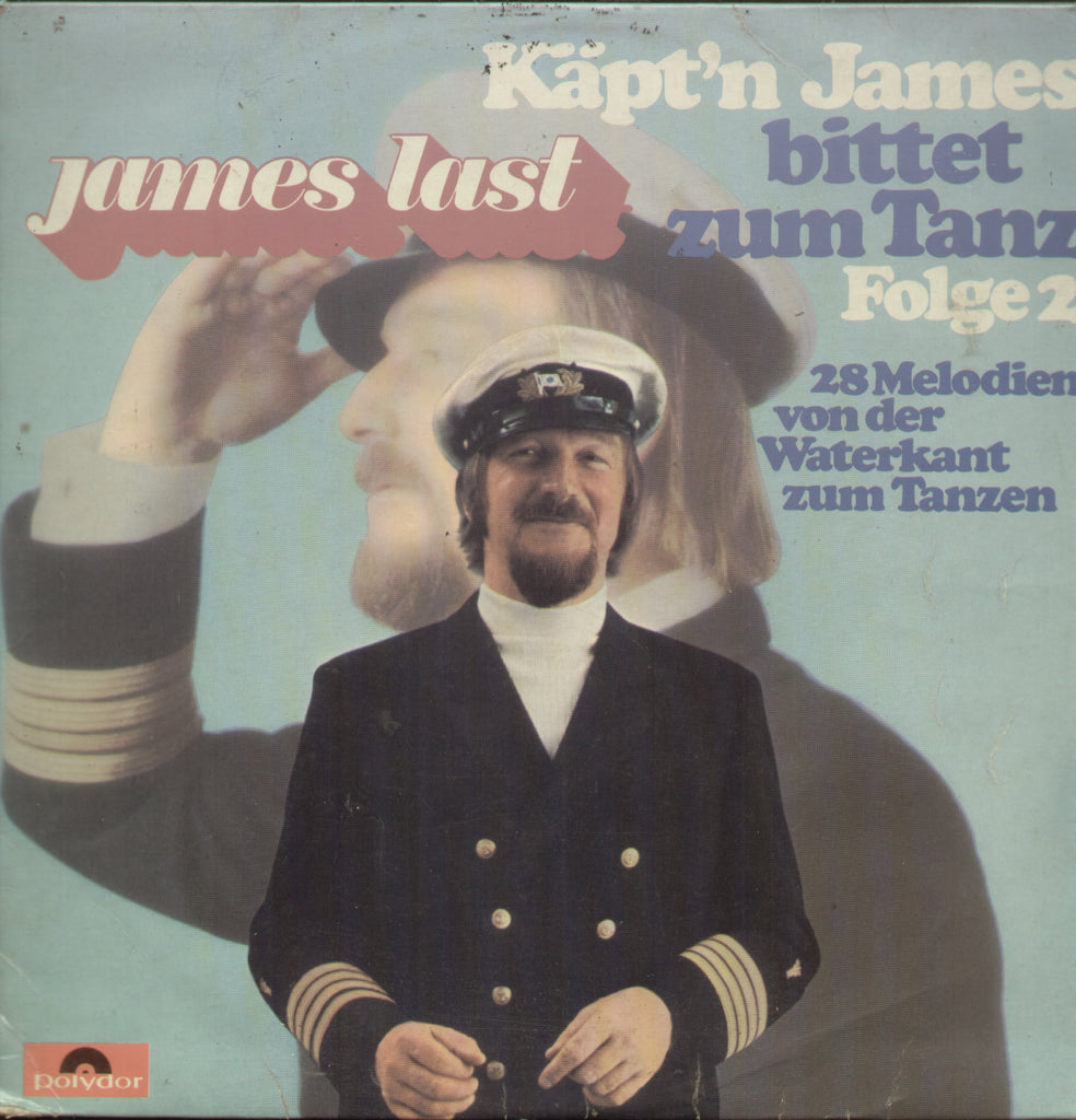 James Last Kapt'n James Bittet Zum Tanz Folge 2 - English Bollywood Vinyl LP