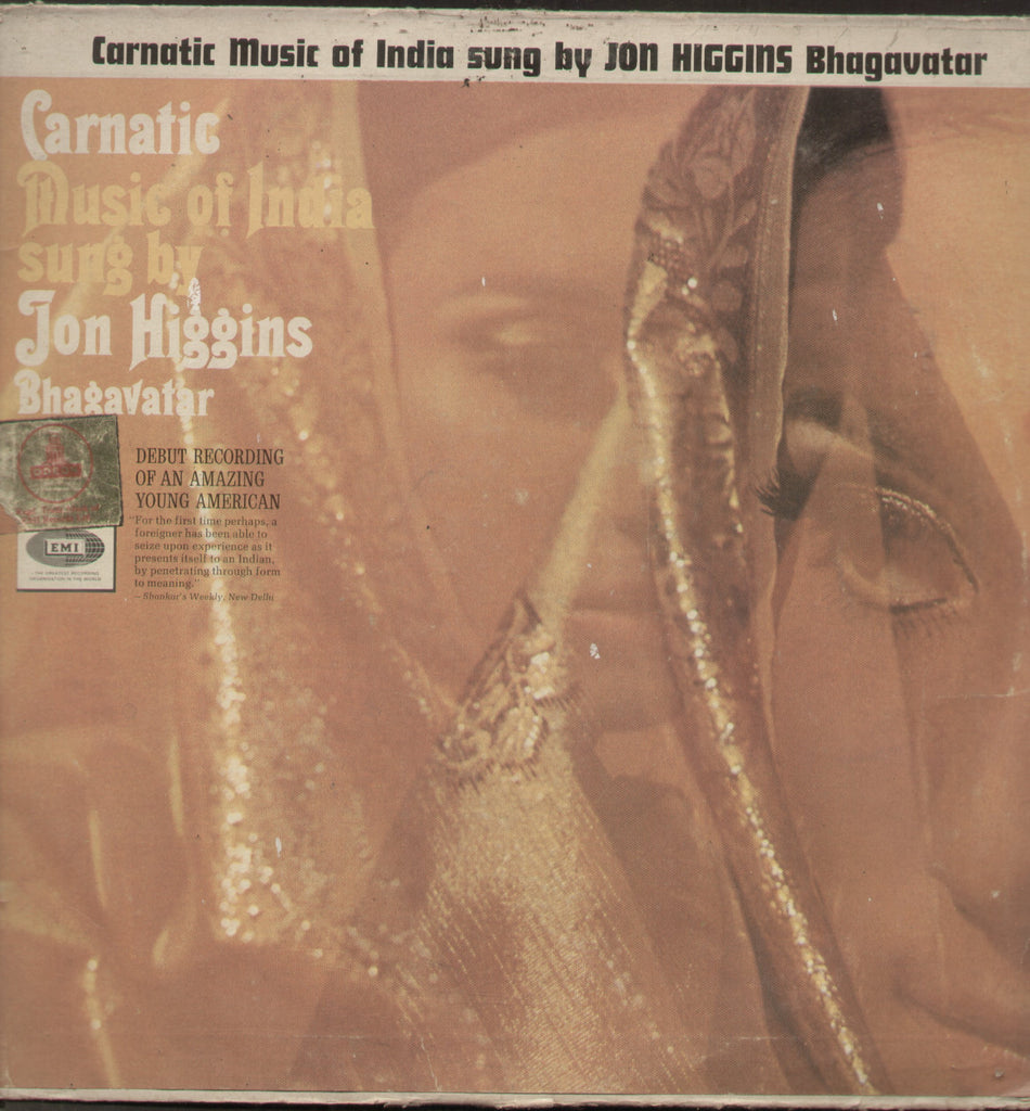 Carnatic Music Of India Sung By Jon Haggins Bhagavatar Vol 2 - Compilations Bollywood Vinyl LP