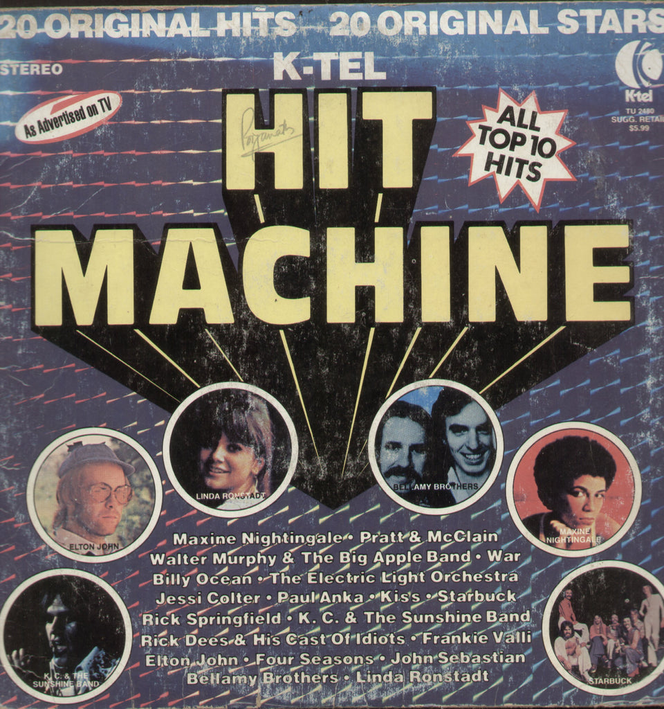 Hit Machine - English Bollywood Vinyl LP