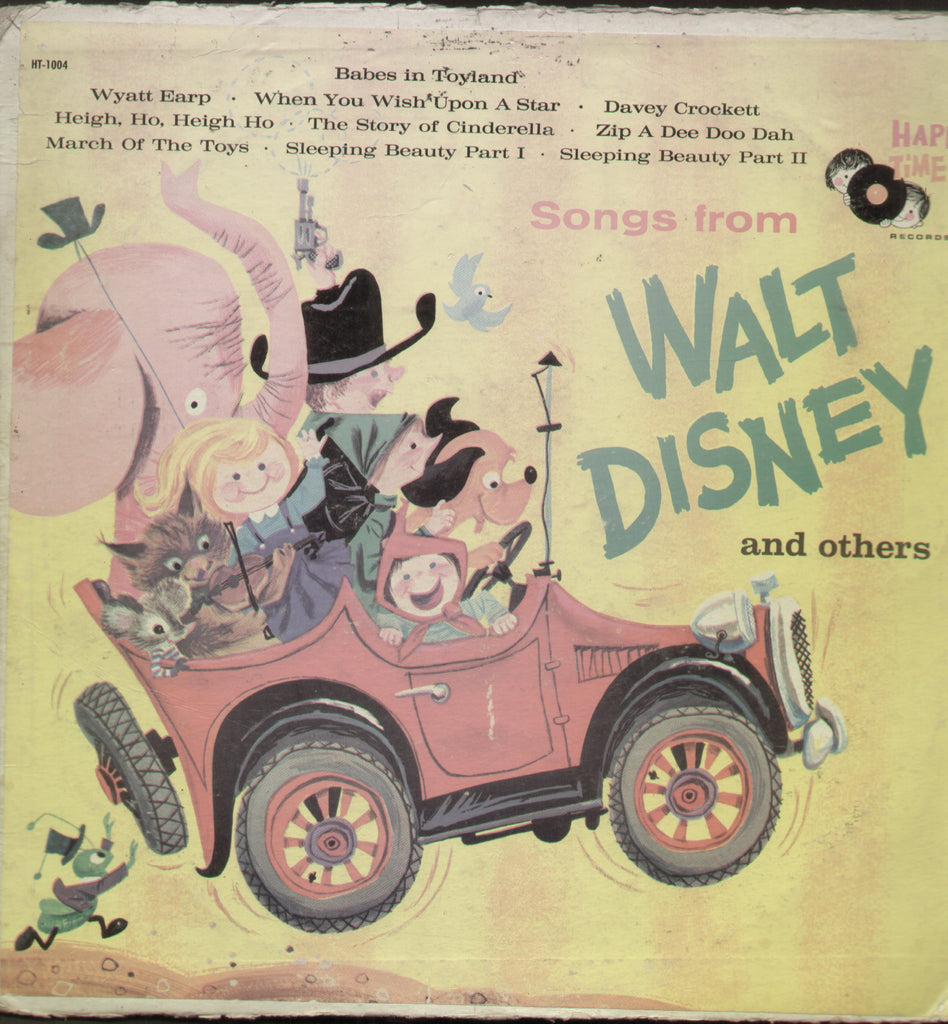 Songs From Walt Disney and Others - English Bollywood Vinyl LP
