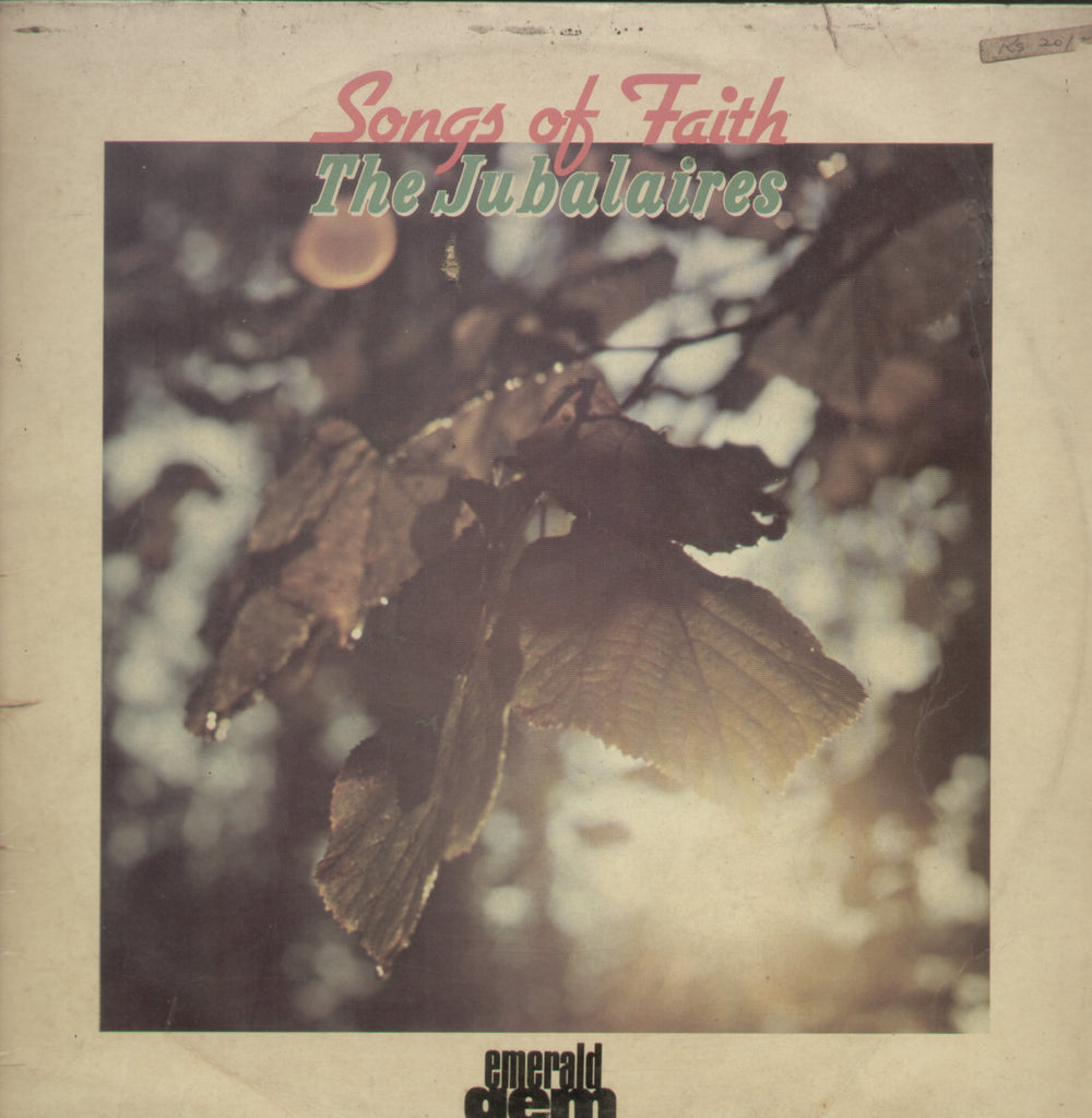 Songs of Faith The Jubalaires - English Bollywood Vinyl LP