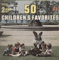 50 Children's Favorites - English Bollywood Vinyl LP