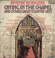 Crying In The Chapel and Other Great Country Hits - English Bollywood Vinyl LP