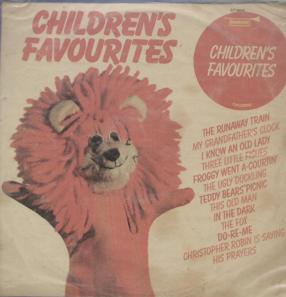 Children's Favourites - English Bollywood Vinyl LP