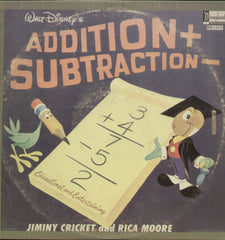 Addition and Subtraction - English Bollywood Vinyl LP