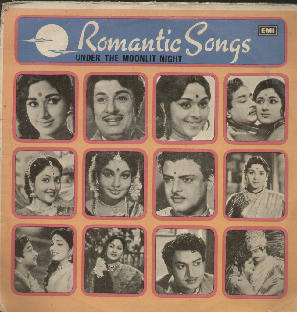 Romantic Songs Under The Moonlit Night - Tamil Bollywood Vinyl LP