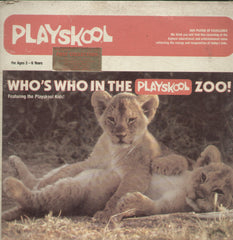 Who's Who In The Playskool Zoo - English Bollywood Vinyl LP