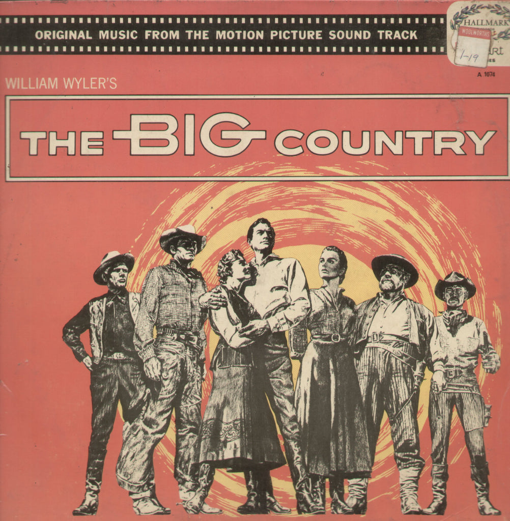 The Big Country - English Bollywood Vinyl LP