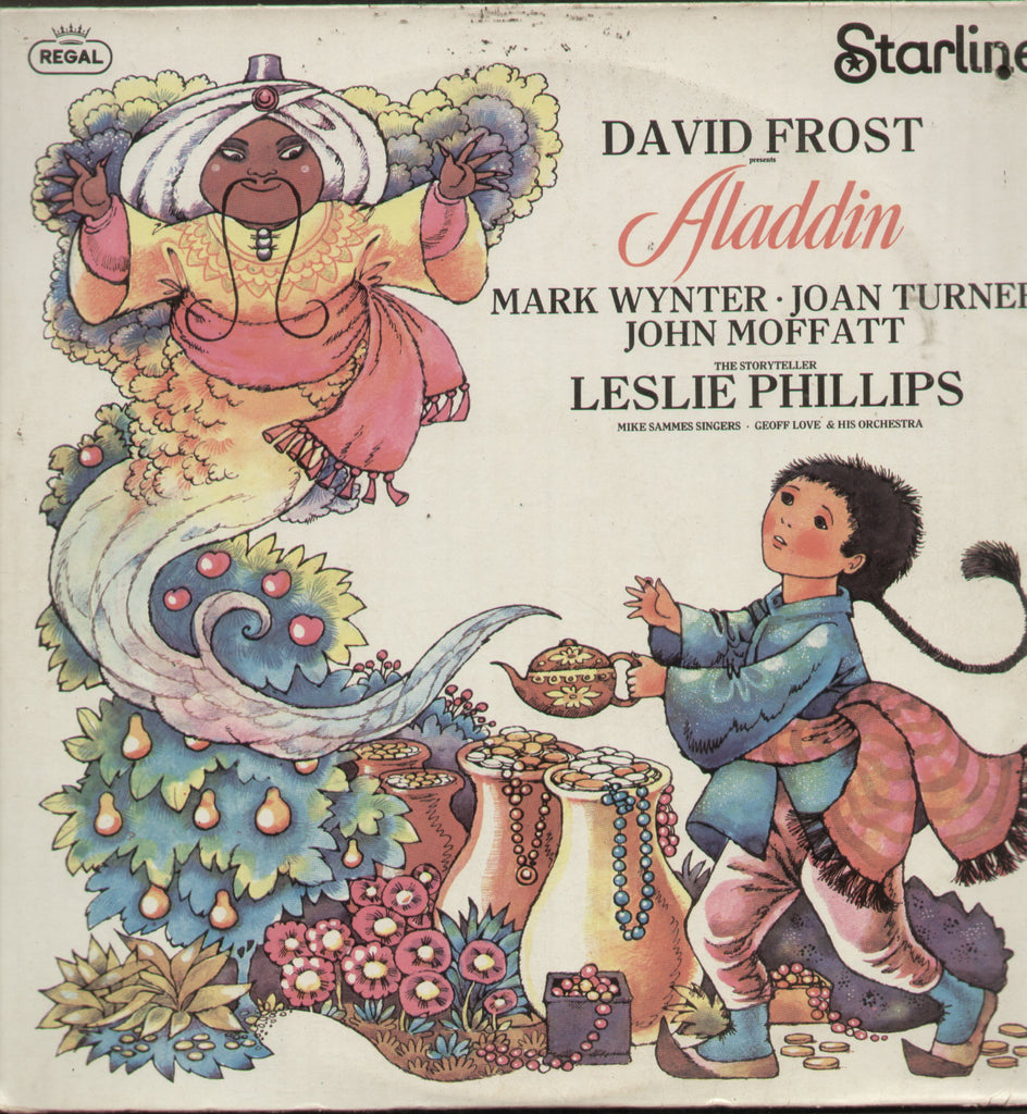 Aladdin - English Bollywood Vinyl LP