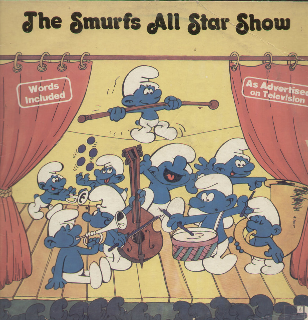 The Smurfs All Star Show - English Bollywood Vinyl LP